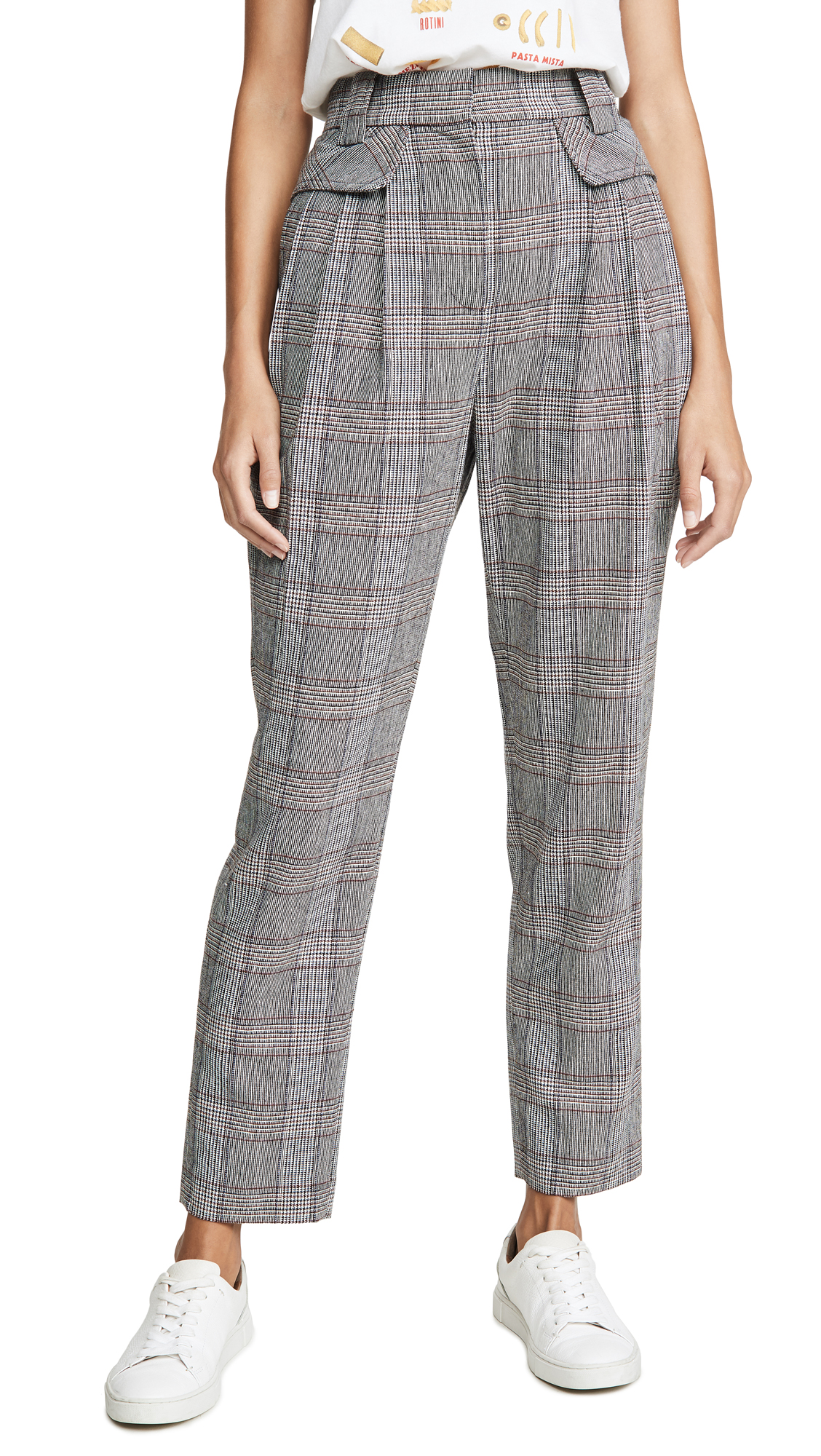 Buy LAVEER online - photo of LAVEER Pleat Front Trousers