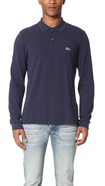 Lacoste Long Sleeve Classic Polo Shirt
