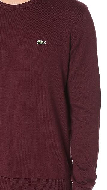 Lacoste Crew Neck Sweater