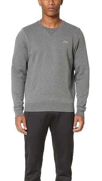 Lacoste Sport Fleece Crew Neck Sweatshirt
