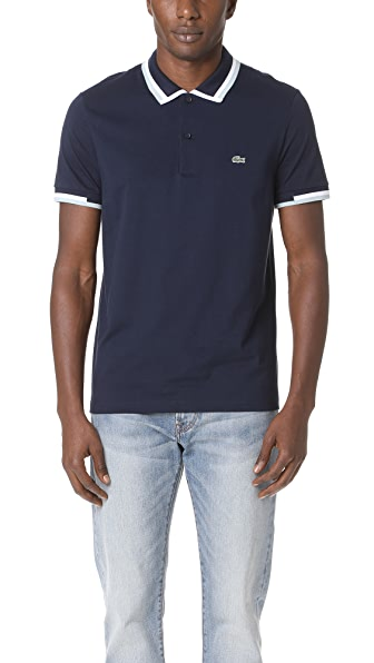Lacoste Short Sleeve Jersey Polo Shirt