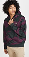 Lacoste L!Ve Camo Pullover Hoodie