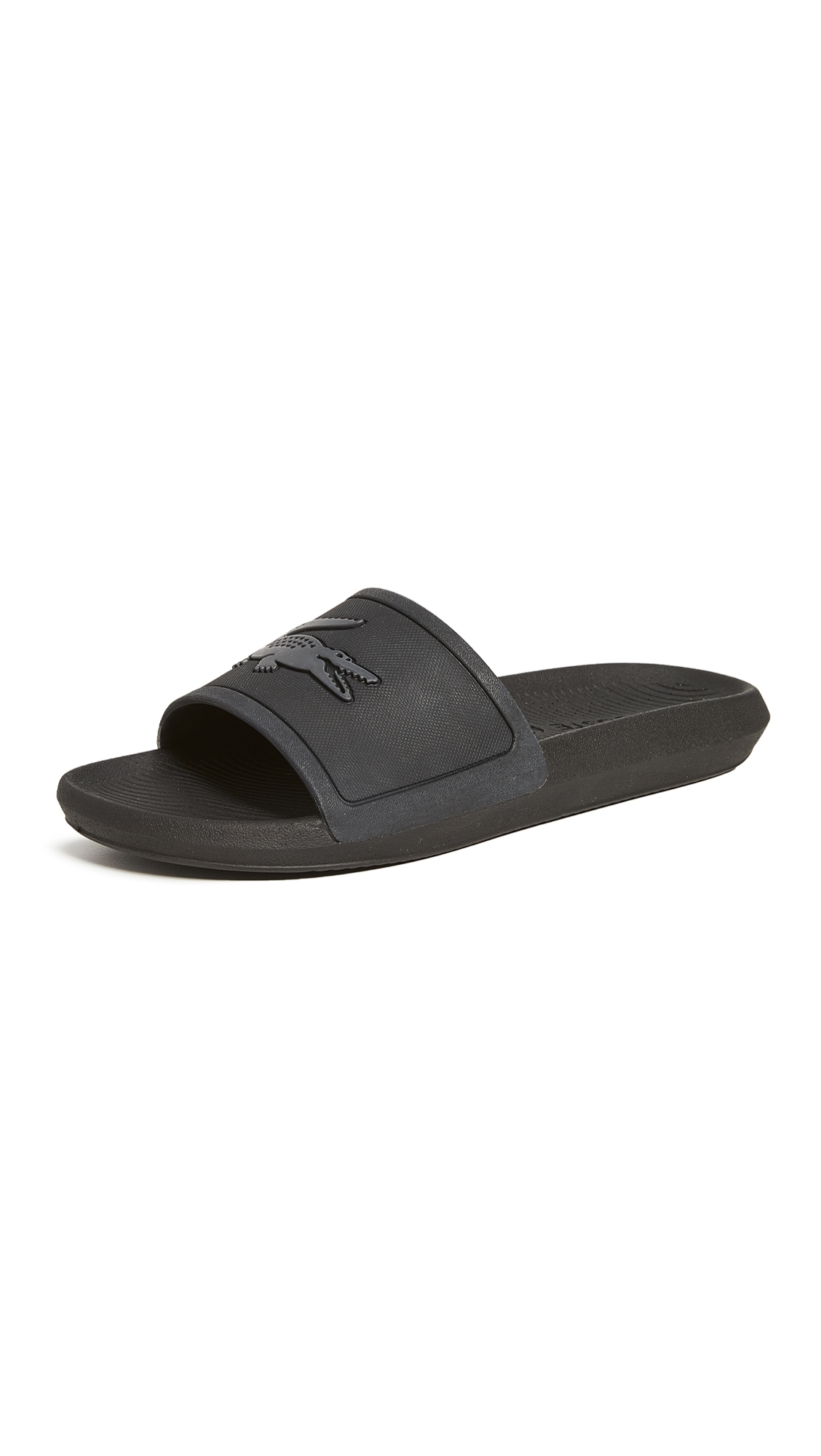 Lacoste Slippers CROCO SLIDES