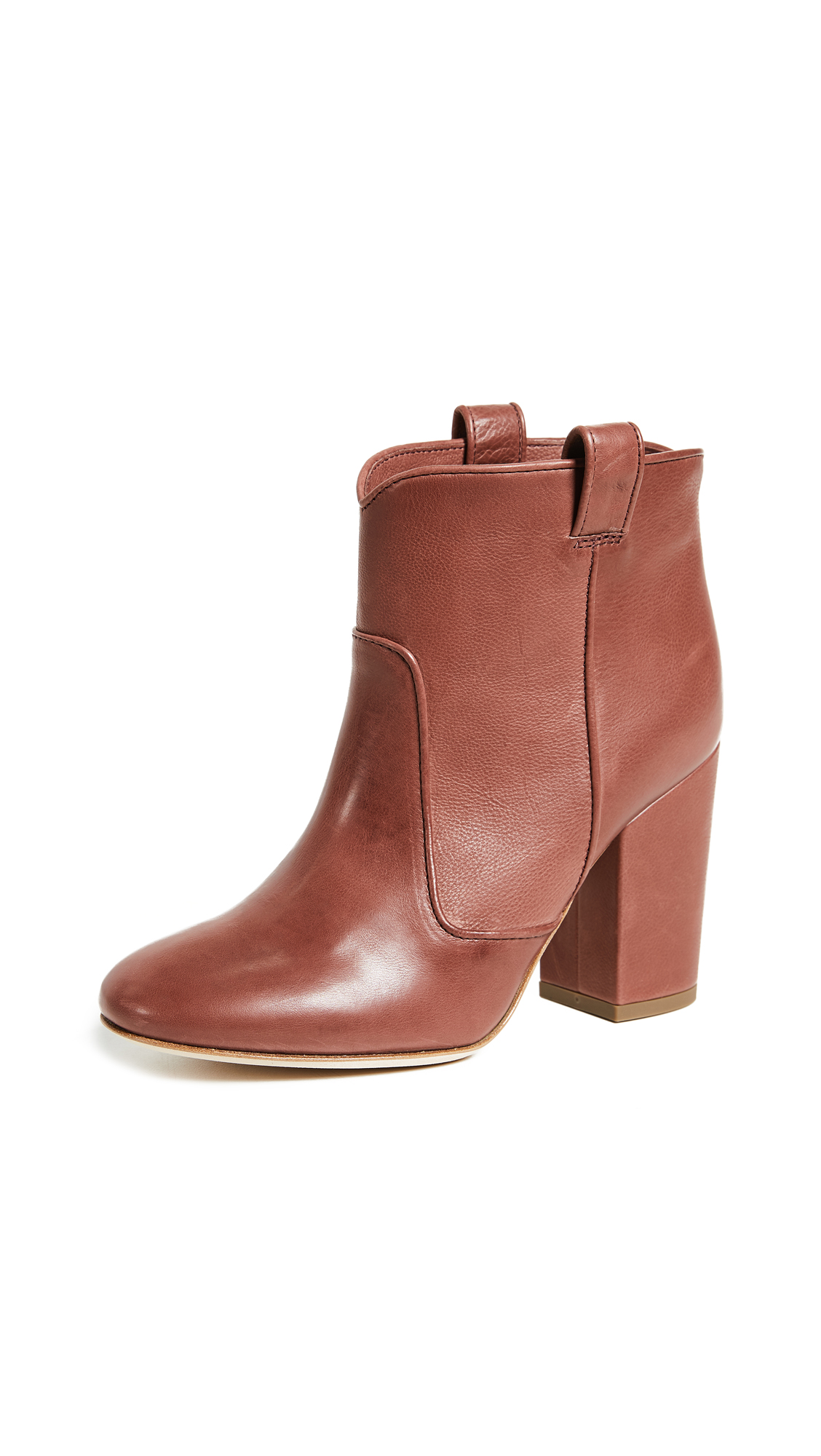 Laurence Dacade Pete Booties - Chestnut