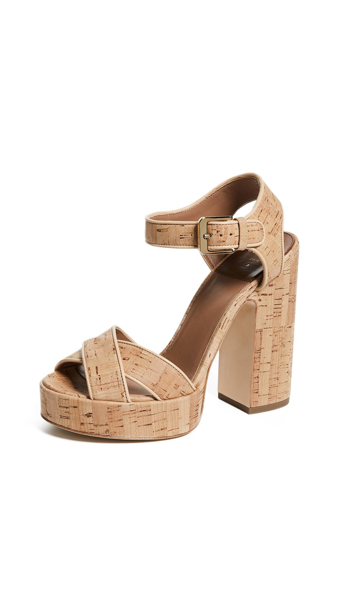 Laurence Dacade Rosange Platform Sandals - Natural