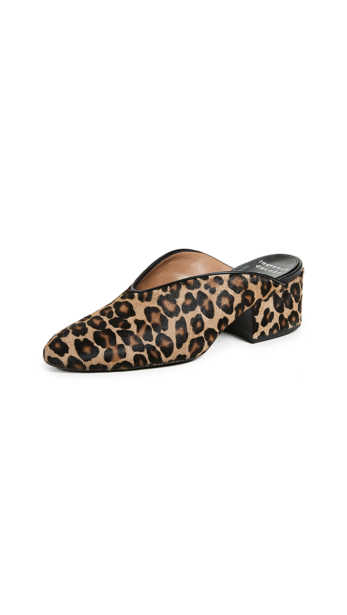 Laurence Dacade Rissy Mules - Black