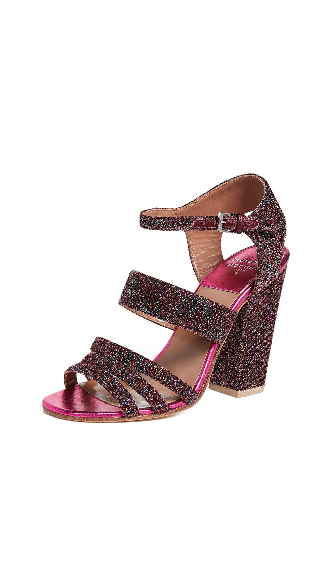 Laurence Dacade Ninon Sandals - Fuchsia