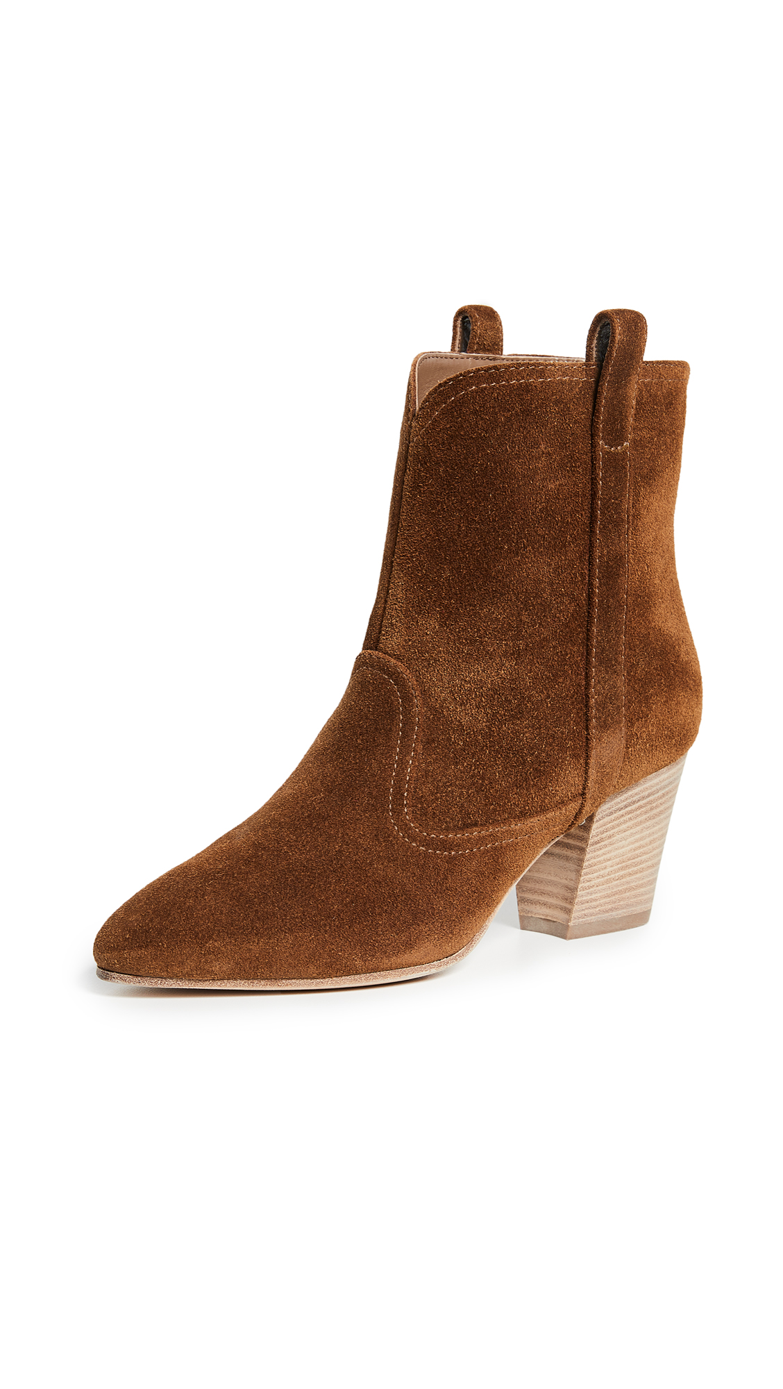 Sheryll Suede Ankle Boots in Camel