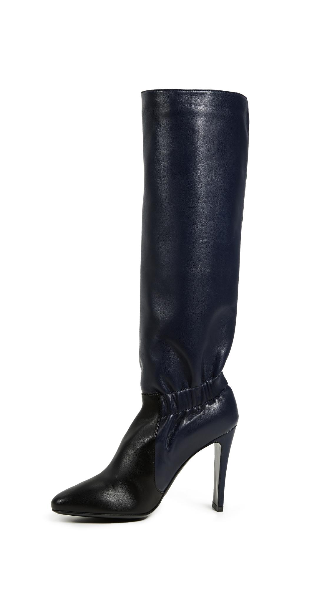 Laurence Dacade Shadia Boots - Navy/Black