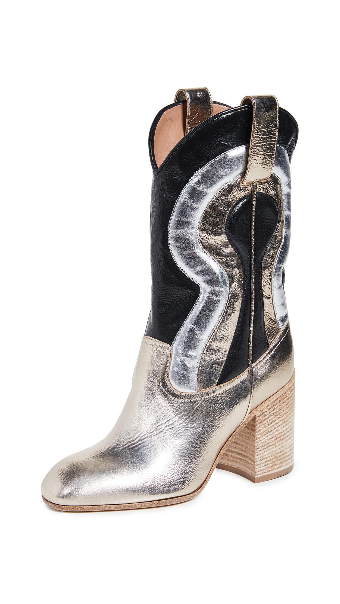 Laurence Dacade Troy Boots - Metallic