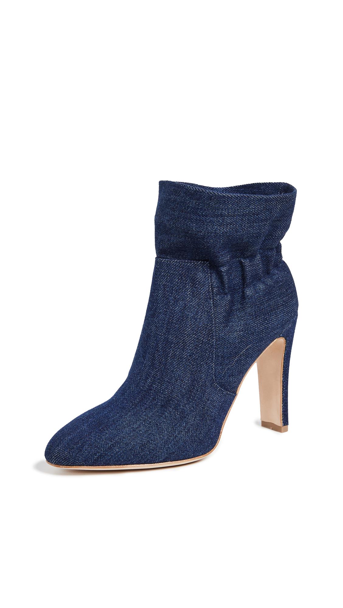Laurence Dacade Steven Ruffle Boots - Blue