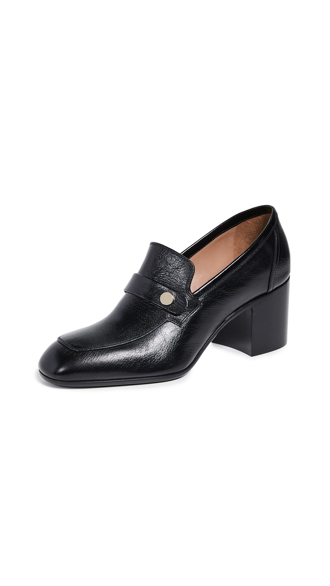Laurence Dacade Tracy Heeled Loafers - Black