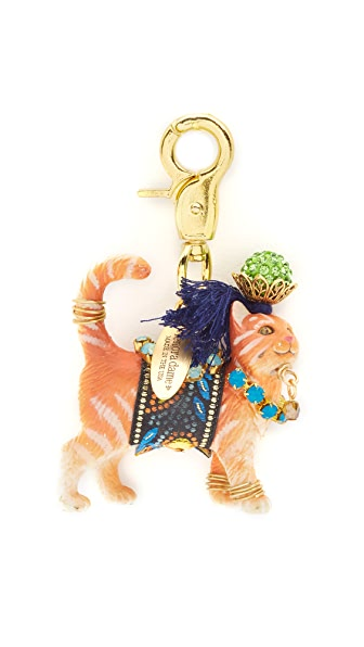Lenora Dame Cat Bag Charm