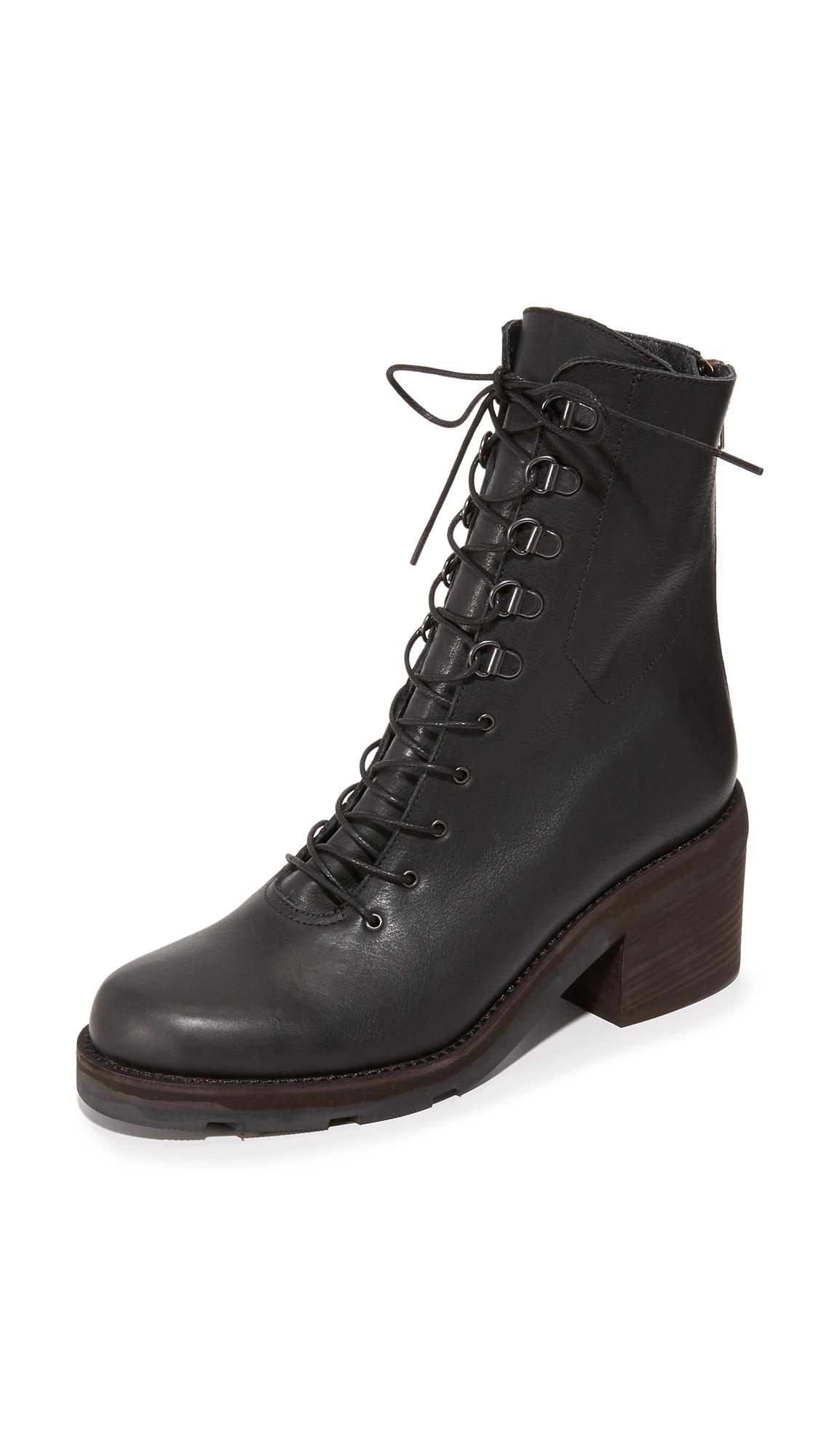 Ld Tuttle The Below Combat Boots - Black