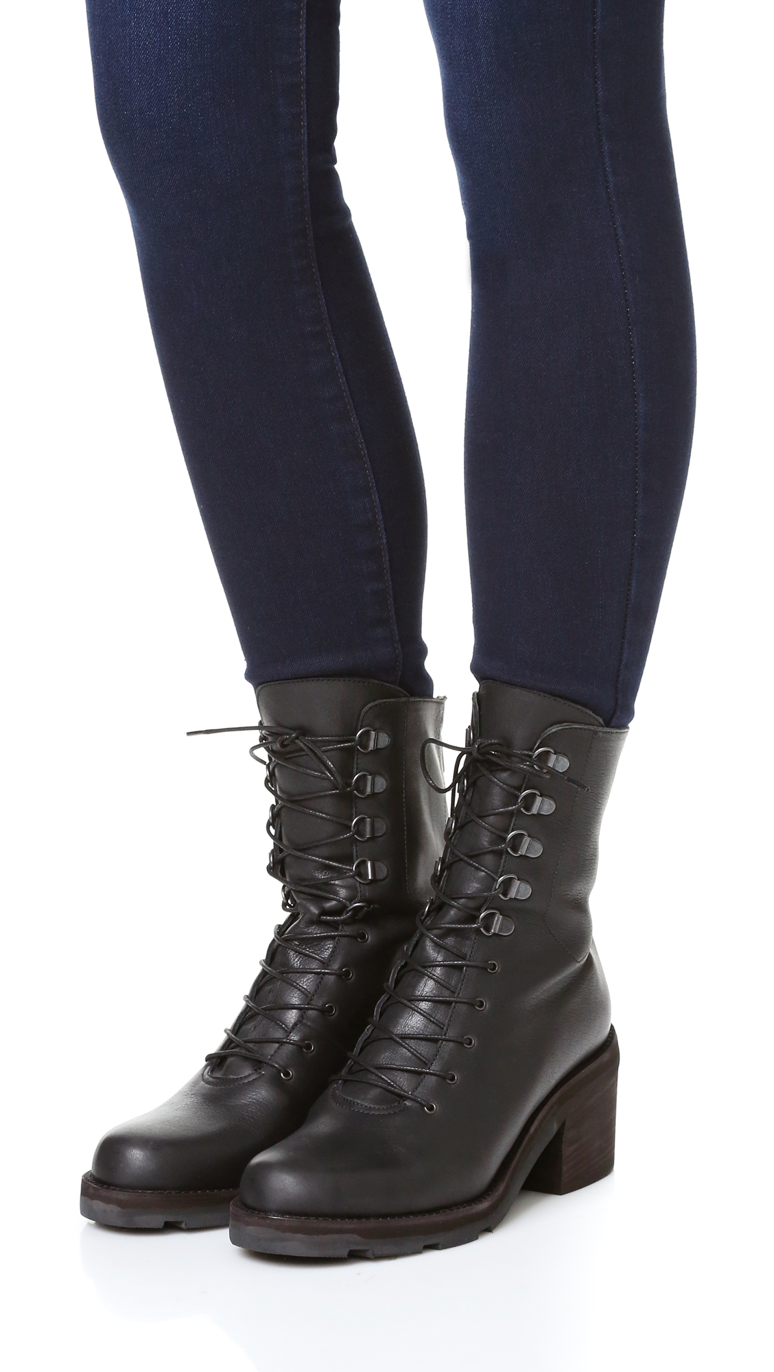 LD Tuttle The Below Mid Calf Leather Boots hLrcRFrg3T