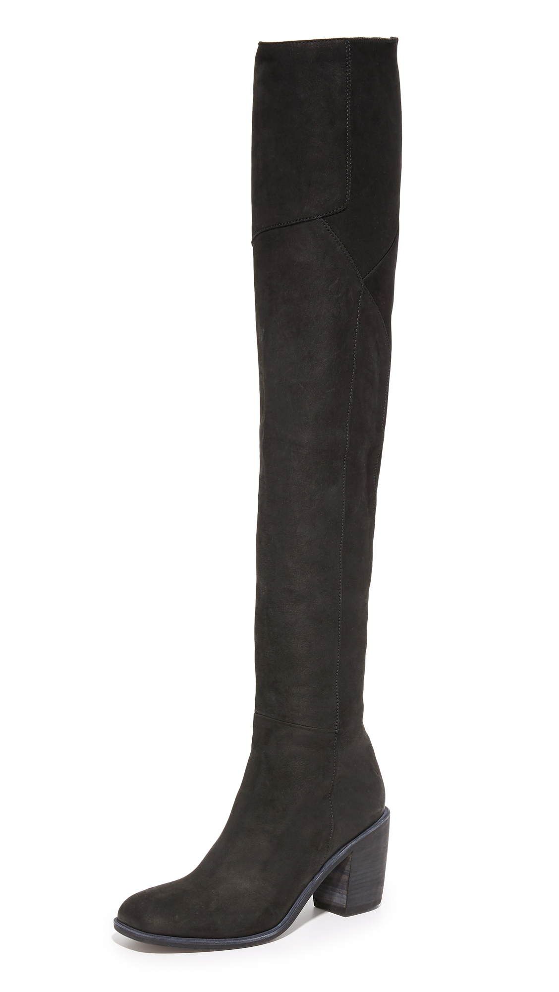 Ld Tuttle The Torch Over The Knee Boots - Black