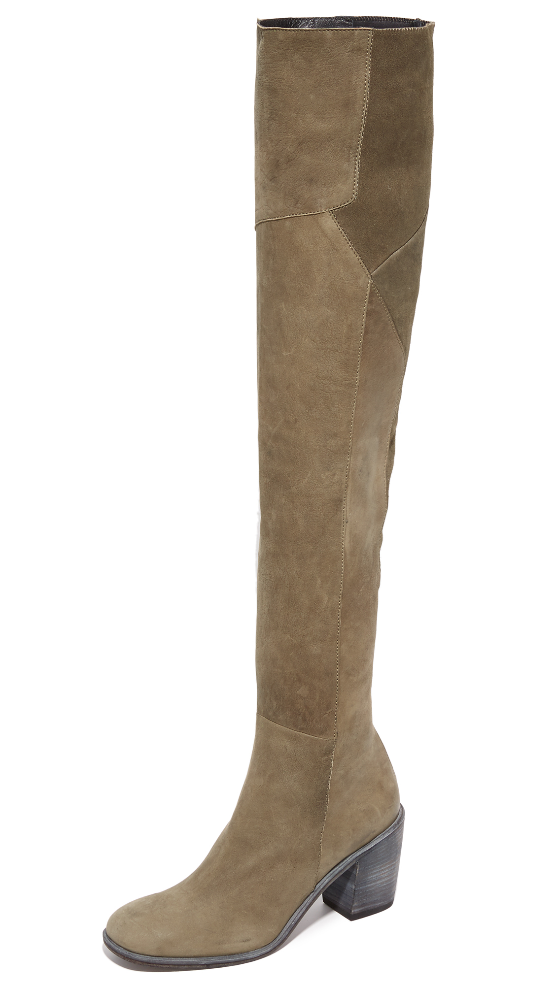 Ld Tuttle The Torch Over The Knee Boots - Lichen