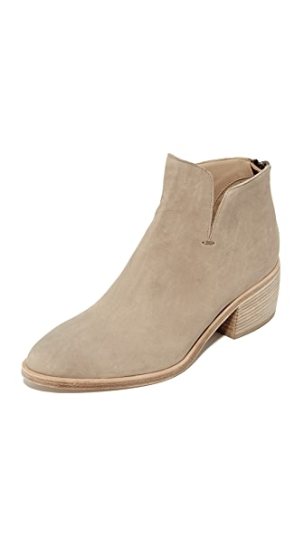 LD Tuttle The Sky Notched Booties - Silt
