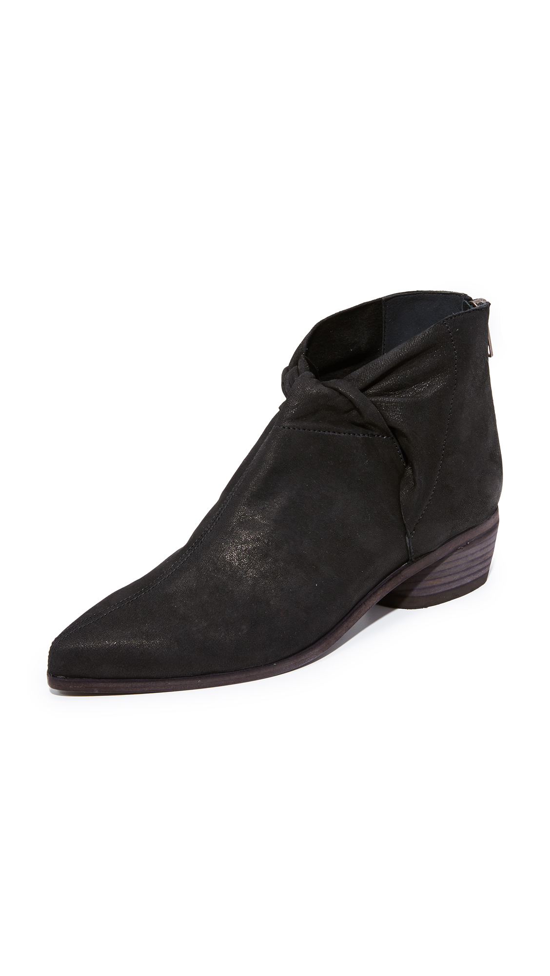 LD Tuttle The Marble Knot Booties - Black