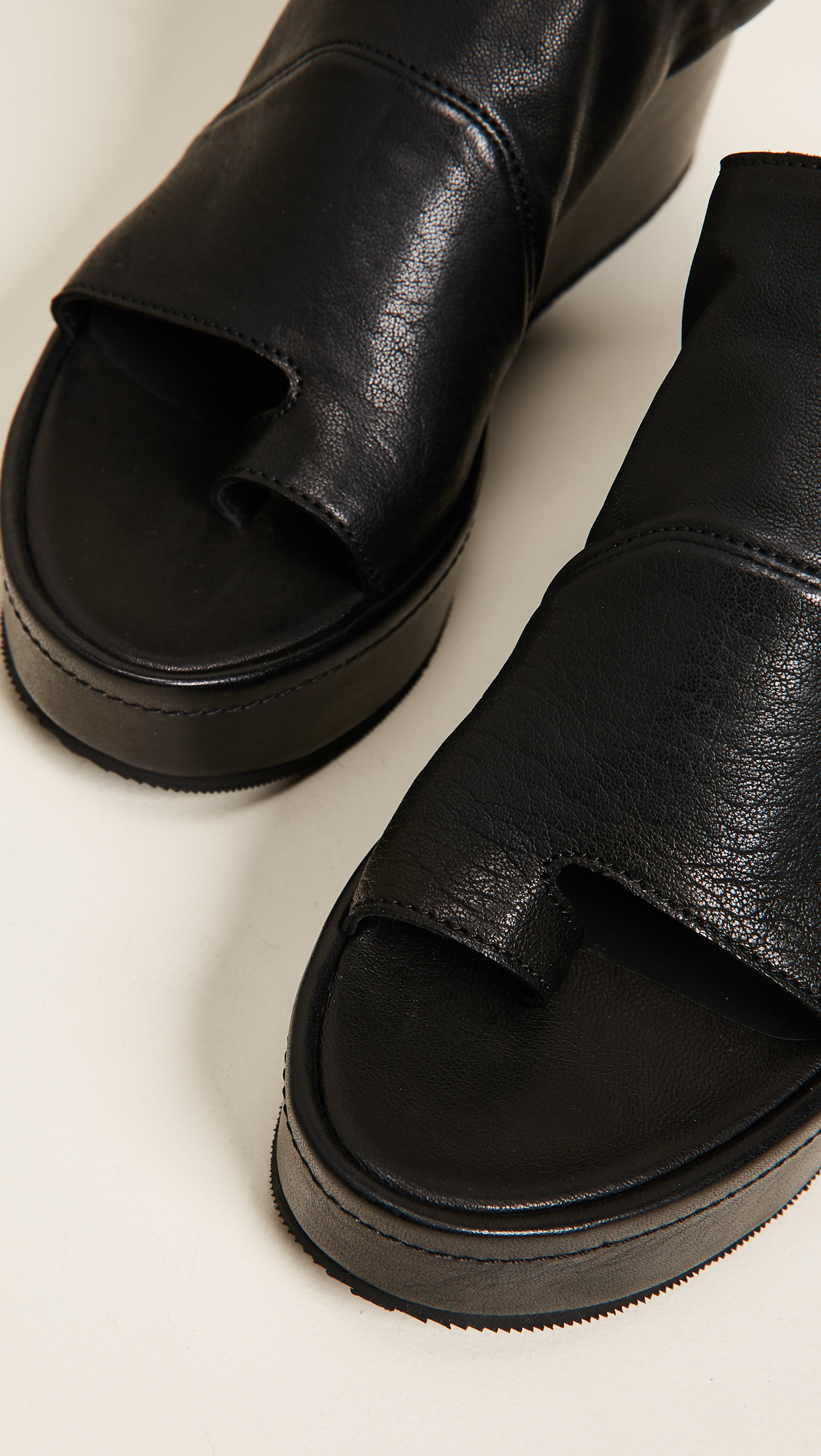 LD TUTTLE The After Platform Slides in Black