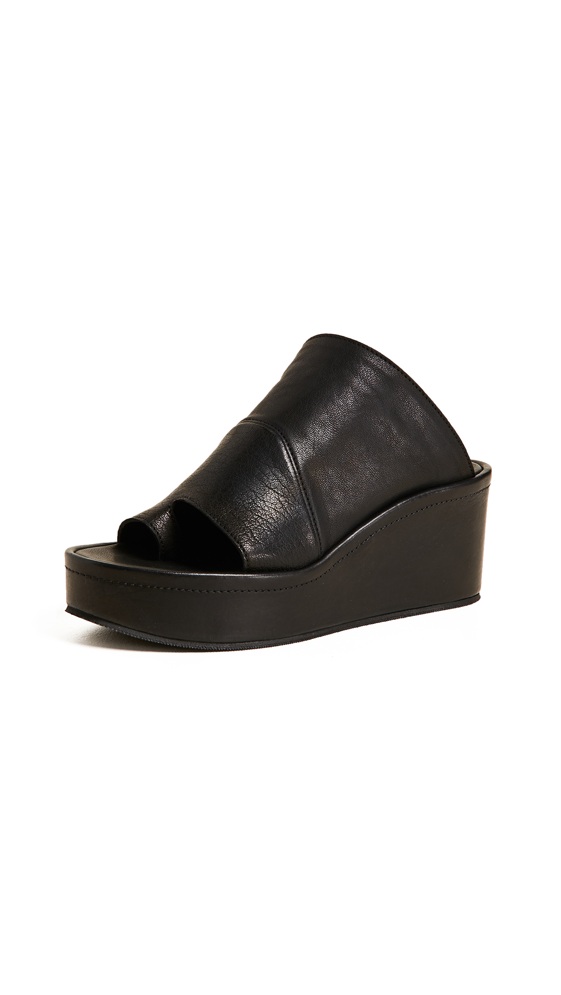 LD Tuttle The After Platform Slides - Black