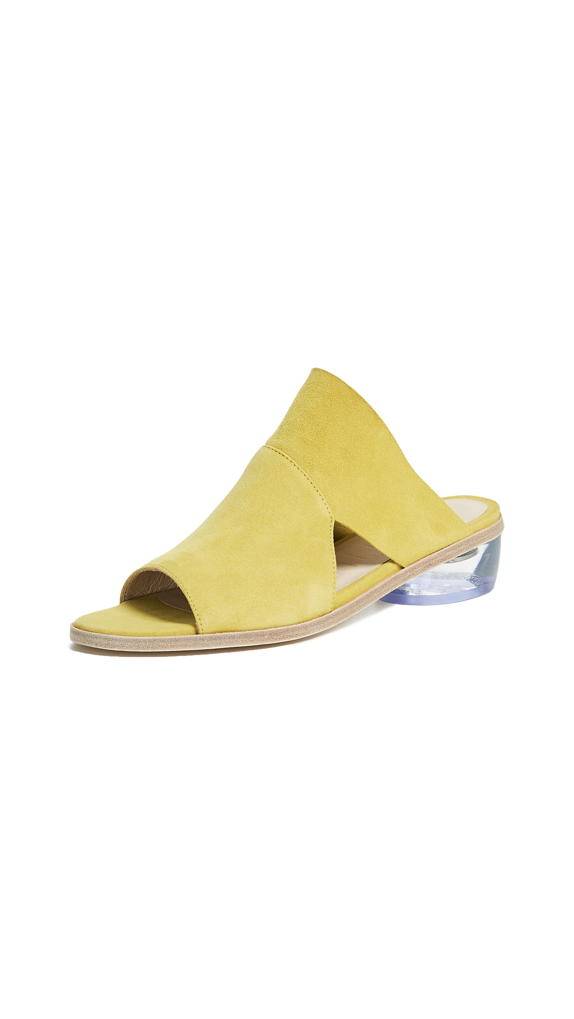 LD Tuttle The Stare Block Heel Sandals - Sulphur