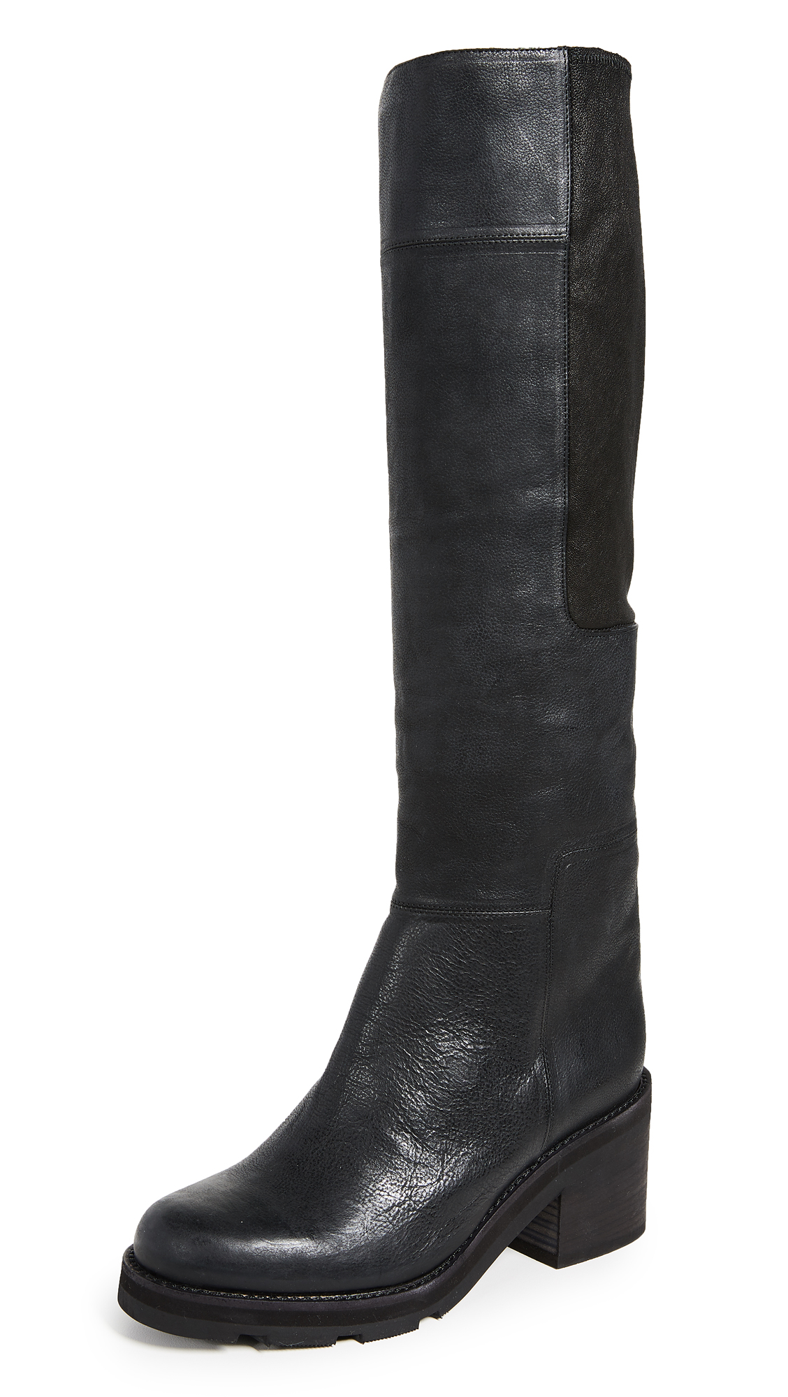 LD Tuttle The Lost Lug Sole Boots - Black