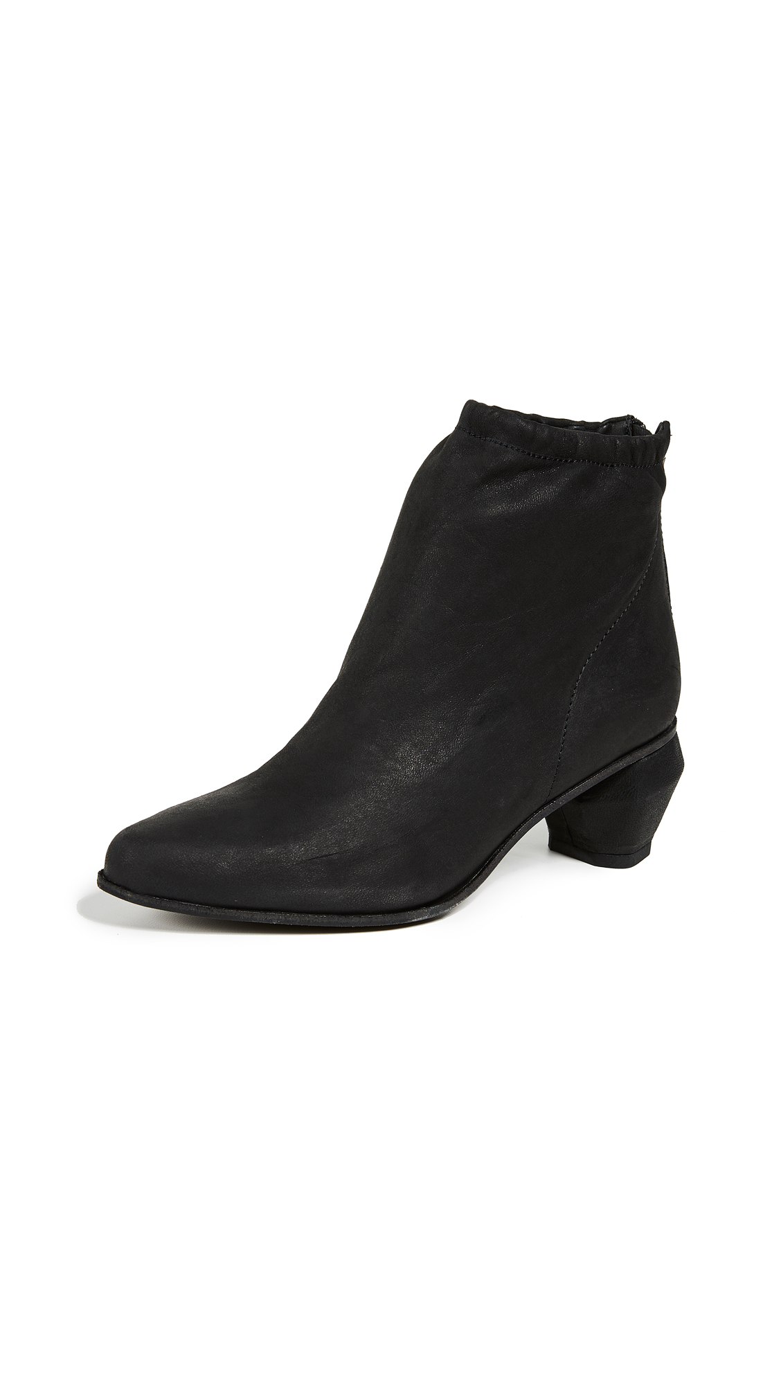 LD Tuttle The Burn Ankle Boots - Black