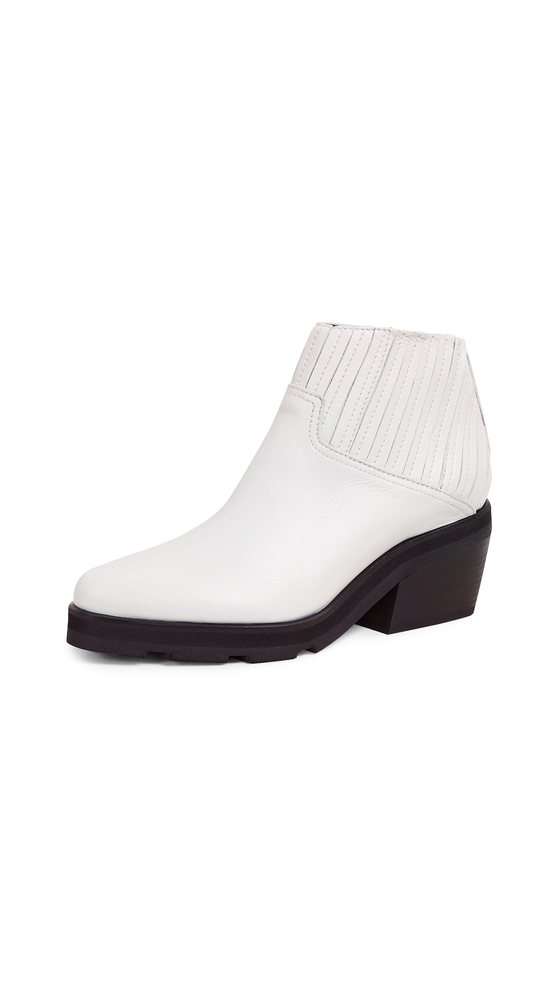 LD TUTTLE The Concord Ankle Boots in Plaster