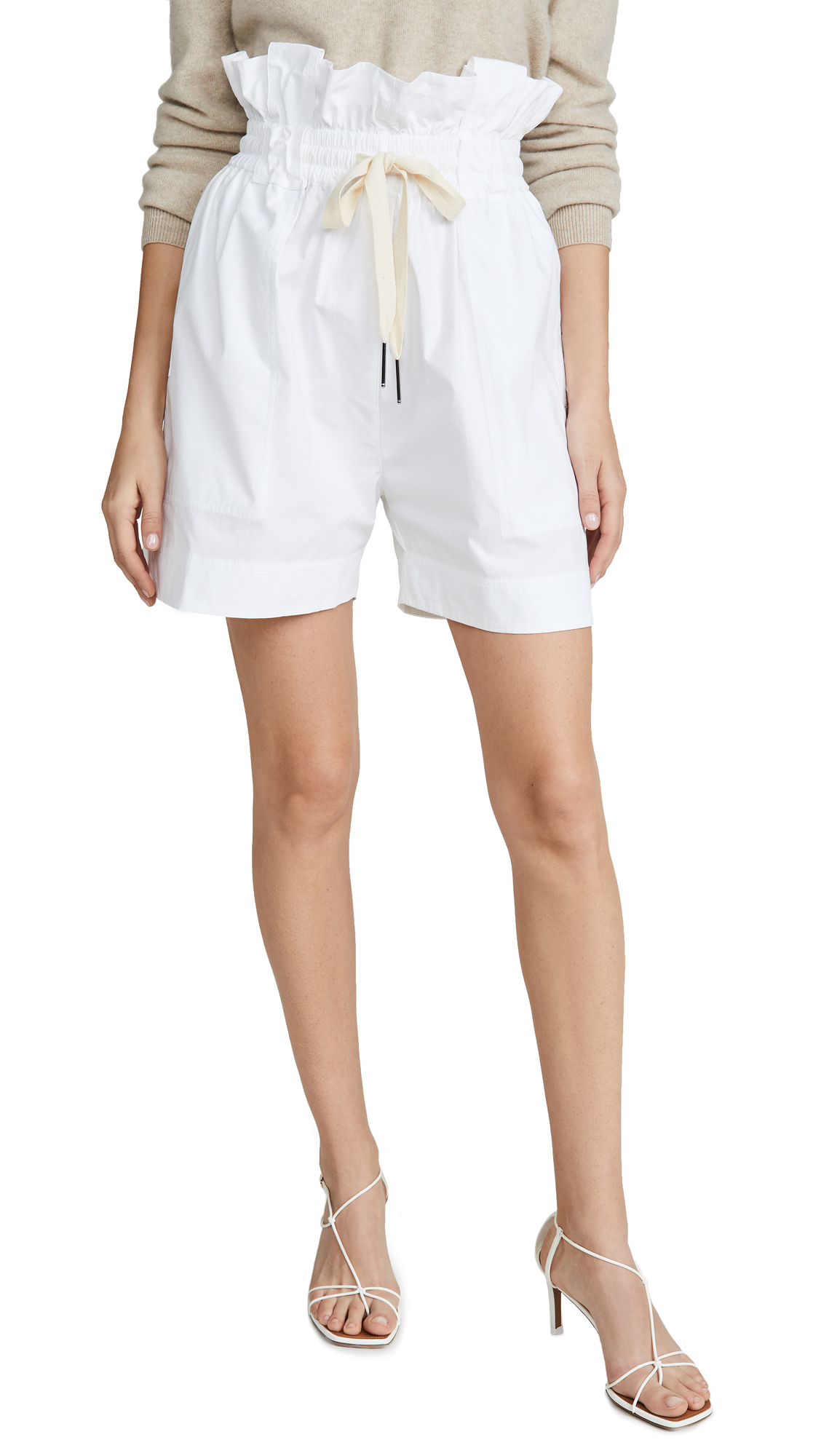 Buy Lee Mathews online - photo of Lee Mathews Dwight Paperbag Shorts