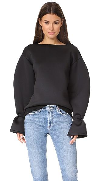 LEHA Rounded Sleeve Sweatshirt