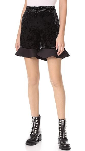 LEHA Neo Flare Shorts - Black