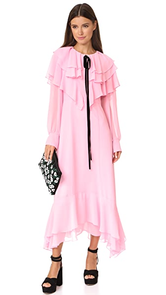 LEHA Ruffle Dress - Pink