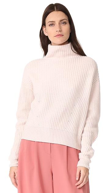 Le Kasha Mock Neck Cashmere Sweater