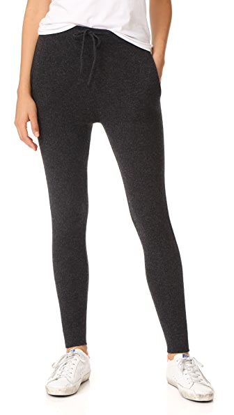 Le Kasha Cashmere Sweatpants In Charcoal