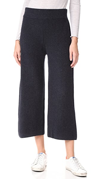 Le Kasha Cashmere Flare Pants In Midnight