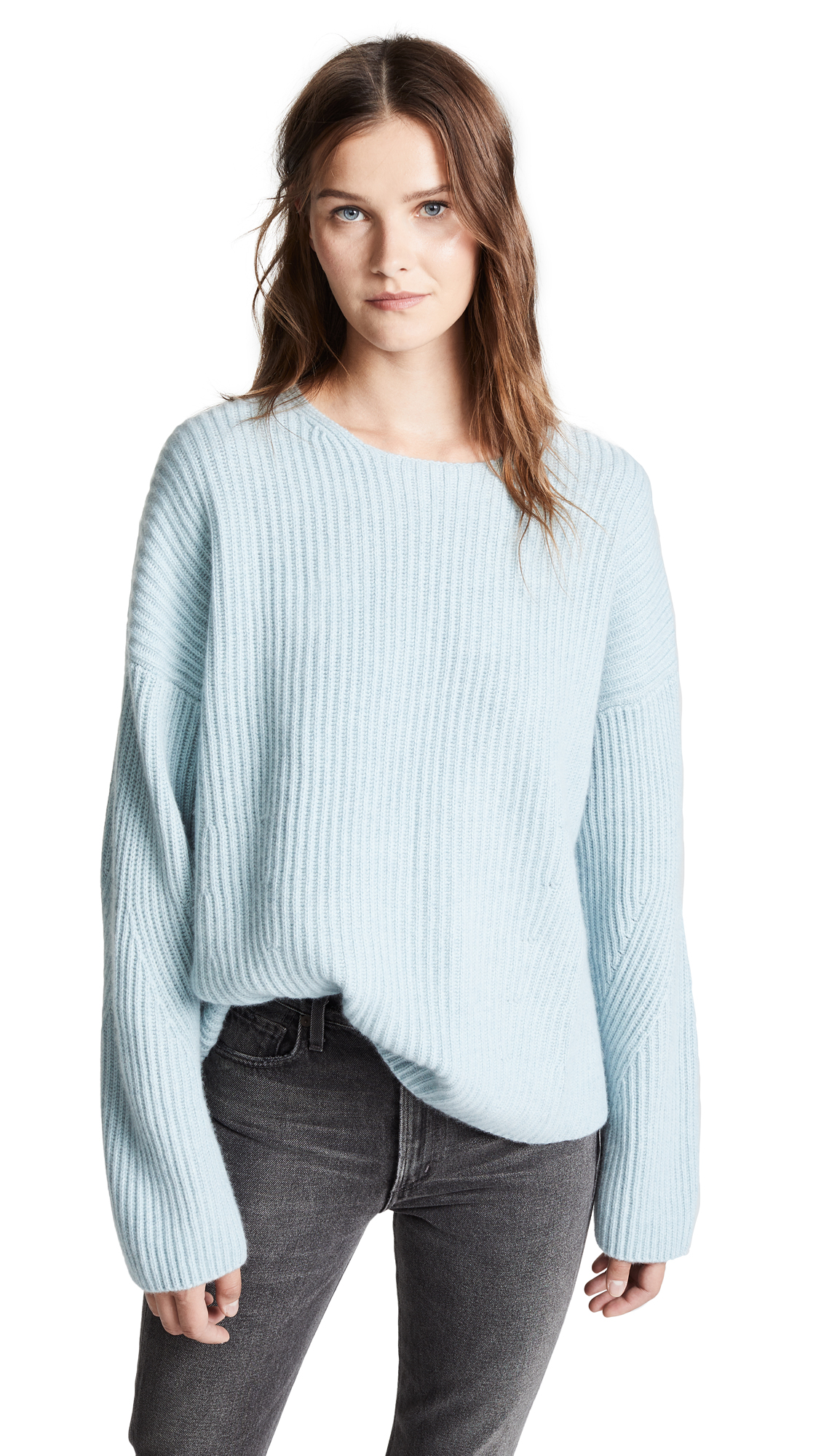 SEOUL OPEN BACK CASHMERE SWEATER