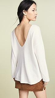 Le Kasha Cortina V Neck Sweater