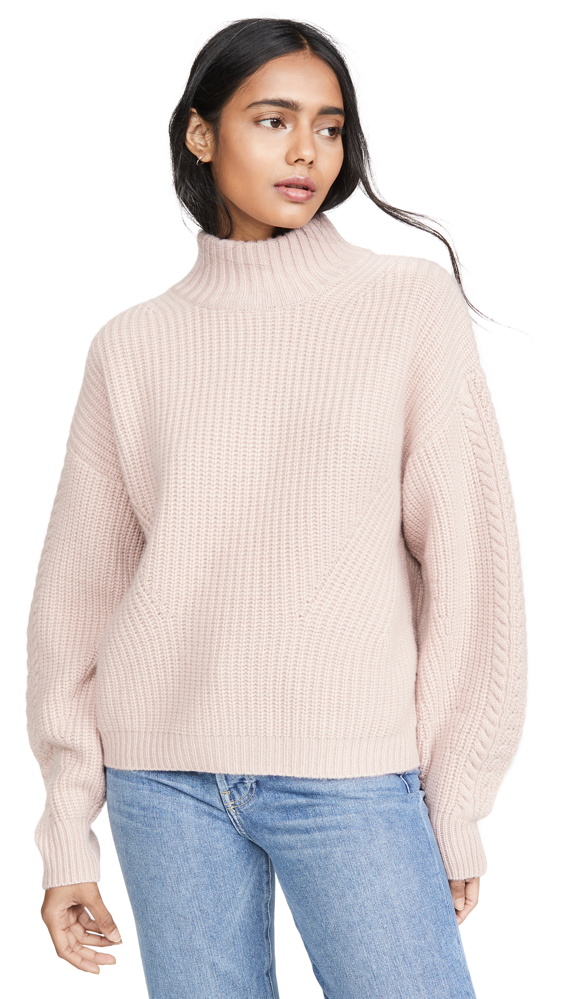 Buy Le Kasha online - photo of Le Kasha Rennes Oversized Cable Knit Cashmere Sweater