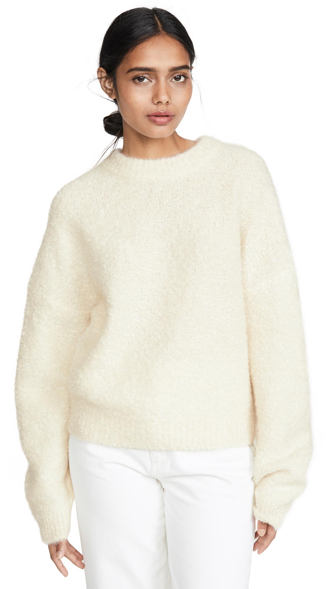 Buy Le Kasha online - photo of Le Kasha Baden Fuzzy Cashmere Sweater