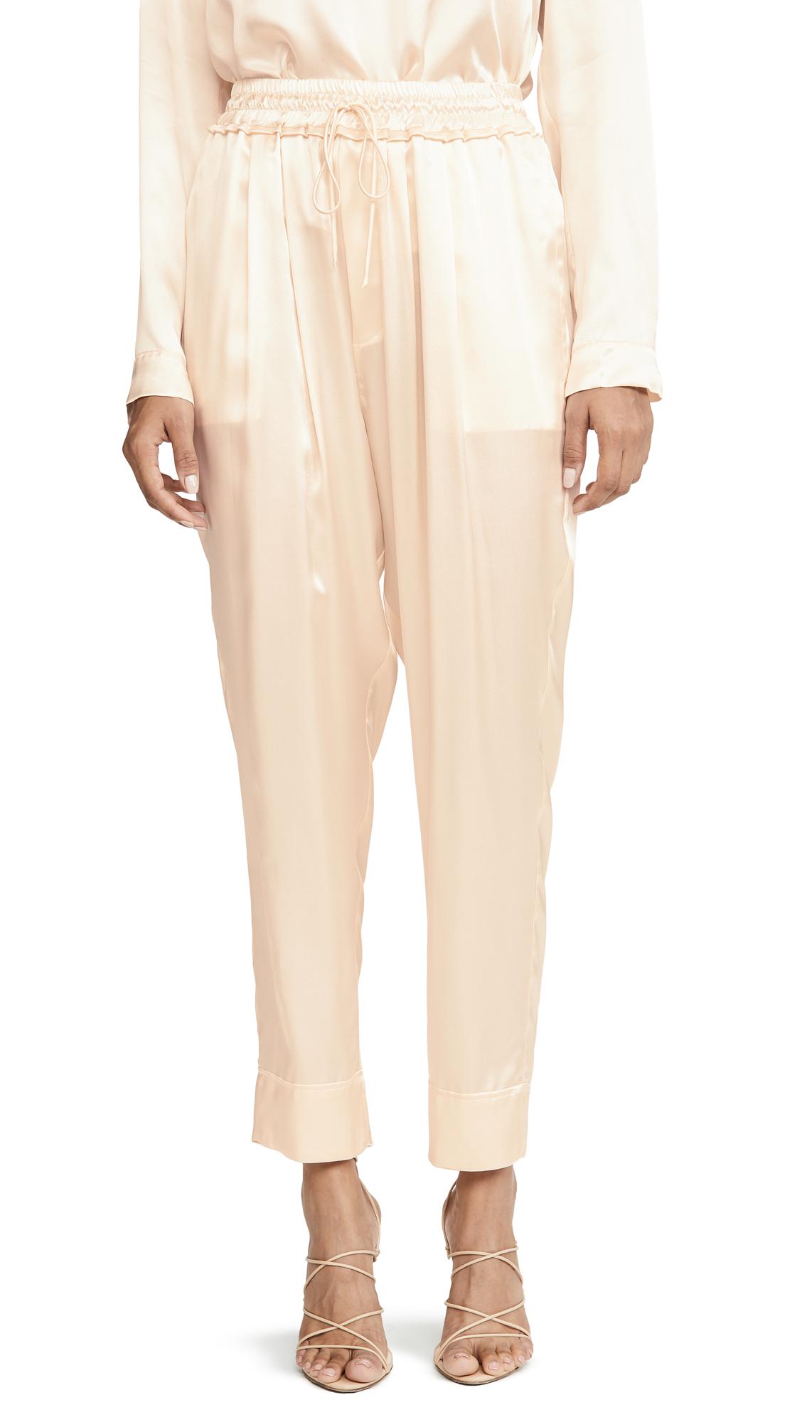 Buy Le Kasha online - photo of Le Kasha Tie Waist Trousers