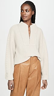Le Kasha Cable Knit Cashmere Sweater