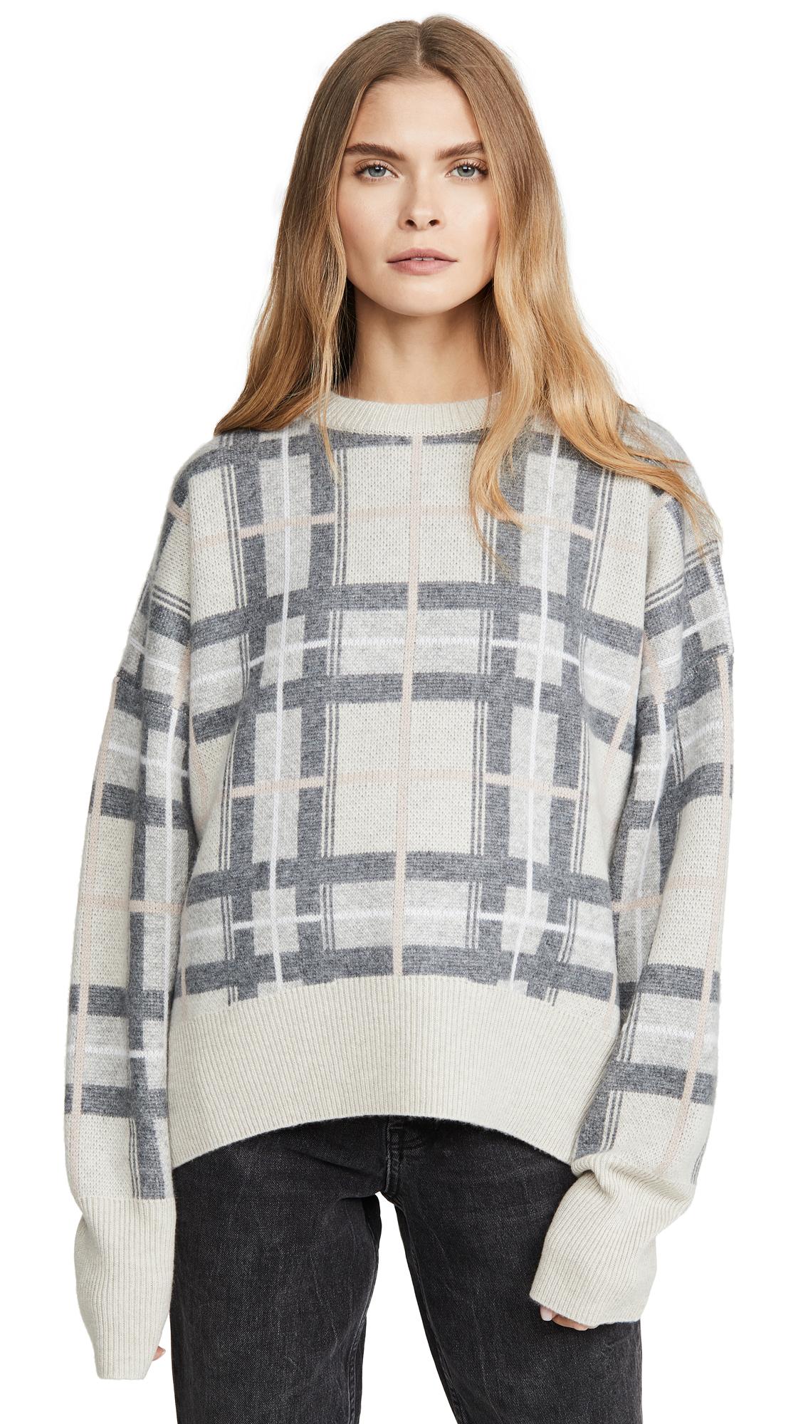 Buy Le Kasha online - photo of Le Kasha Plaid Cashmere Sweater