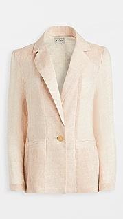 Le Kasha Tima Organic Light Linen Blazer