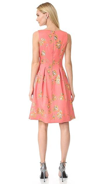Lela Rose Full Skirt Sheath Dress
