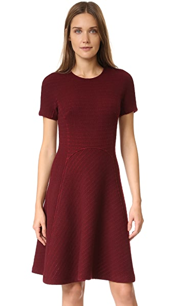 Lela Rose Seamed Dress