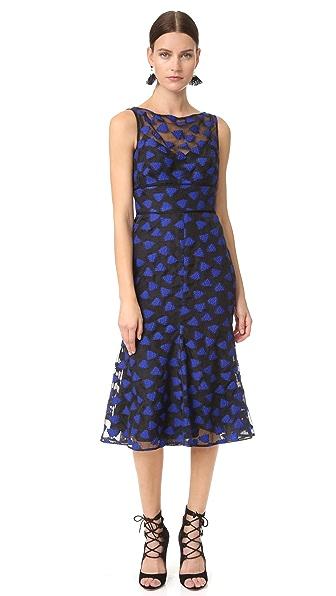 Lela Rose Bell Skirt Dress