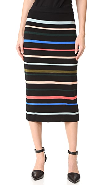Lela Rose Pencil Skirt - Multi