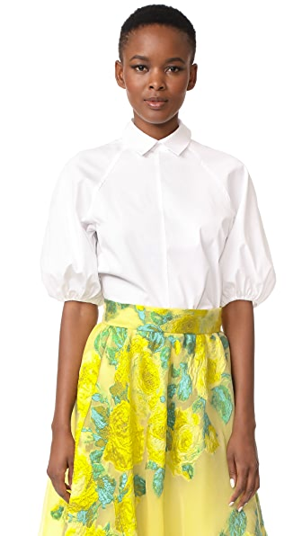 Lela Rose Full Sleeve Shirt
