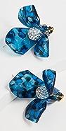 Lele Sadoughi Triullium Stud Earrings
